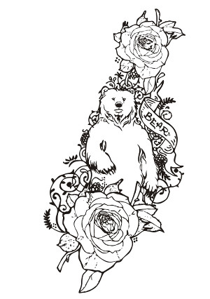 Coloriage adulte - Coloriage tatouage ...
