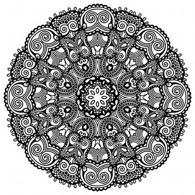 Coloriage adulte nature - Zen coloriage ...